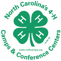 NC 4-H camps and centers logo