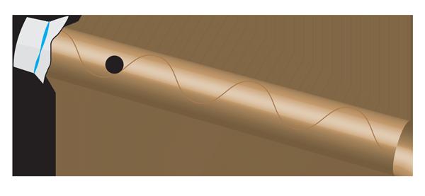 Finished homemade kazoo