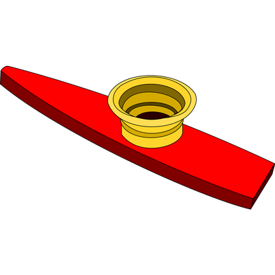 Image of a kazoo musical instrument