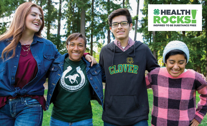 North Carolina State University 4-H is proud to offer Health Rocks!® as a collaboration with National 4-H Council.