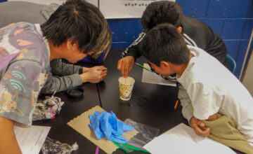 Microbes on My Mind-A Middle School Perspective